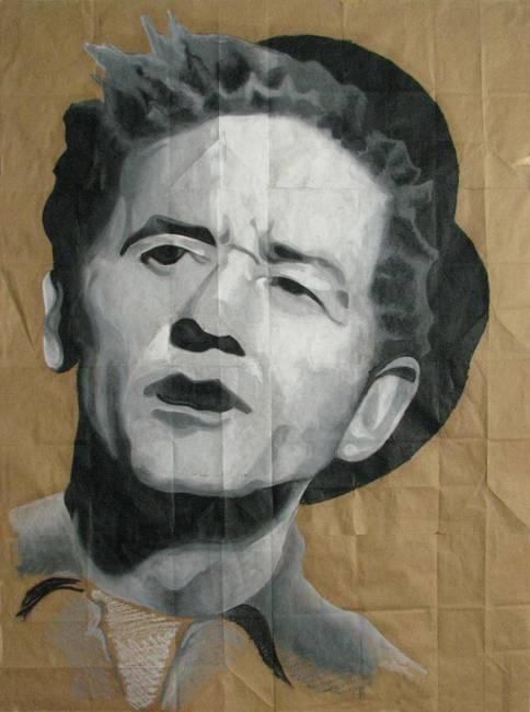 """Woody Guthrie Drawings Woody Guthrie """""""