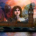 """Angel in London"" by angelartbyeve"