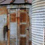 """Rusty Bin Door"" by boysen"