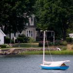 """Sailboat in Mystic River"" by jennifergoico"
