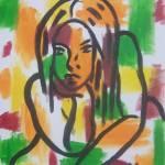 """pensive"" by mayapapaya"
