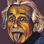 """Albert Einstein"" by RamosStudios"