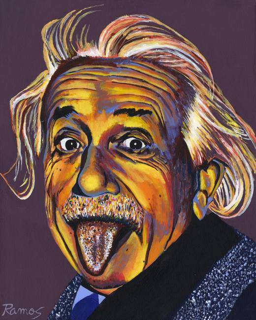 Albert Einstein By Stephen Ramos