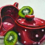 """Kiwi and Kitchenware"" by juliaKapp"