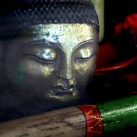 Buddha with Flute