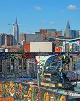 Graffiti New York rooftops #1