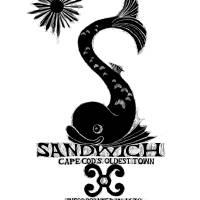 Sandwich, Cape Cod Dolphin (B&W) Art Prints & Posters by Winnie Fitch