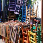 """colorful chairs"" by MariaBell"