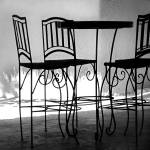 """Table and Chairs"" by paulasuterphoto"