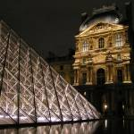 """Louvre at Night"" by Juliavonderreith"