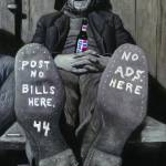 """Post No Bills Here"" by righettiarte"