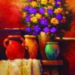 """Bronze vase"" by kanayoede"