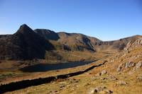 Ogwen valley from Pen yr Ole Wen