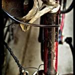 """Worn Bicycle"" by lucybluestudio"