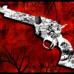 """Toile Gun"" by lucybluestudio"