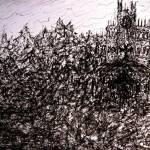 """""""Slavik Castle - Landscape"""" by artbycaralina"""
