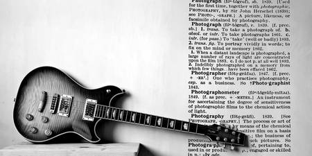 Guitar & Photo Overprint