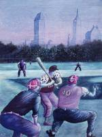 New York Baseball Players - Fine Art Painting