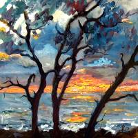 Jekyll Island View From My Balcony SUNRISE Art Prints & Posters by Ginette Callaway