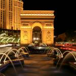 """Paris Casino Fountain Las Vegas"" by christopherhall"