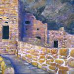 """Artwork; Spruce House Mesa Verde Ancient Southwest"" by Lenora"