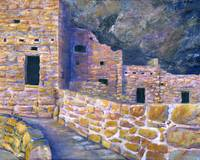 Artwork; Spruce House Mesa Verde Ancient Southwest
