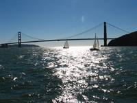 Sailing by the Golden Gate