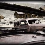 """Old Rusty Cars at Bodie - Aged (0452)"" by johncorney"