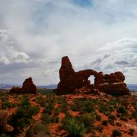Arches Turret Arch Art Prints & Posters by Christopher Hall