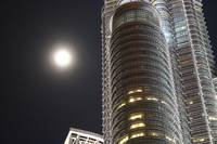 The Moon and Petronas
