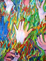 Hands Defy Their Planting (detail 10 crop)