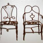 """Wire Chairs"" by NOLAlphabet"
