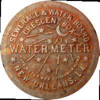 New Orleans Water Meter Cover (Color)