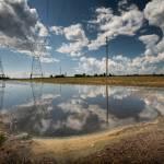 """Flooded Fields: West Alton Missouri 6.30.2008"" by notleyhawkins"
