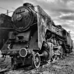"""Hungarian Steam Engine 424"" by davidvigh"