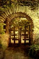 Door to the Secret Garden (Byzantium Architecture)