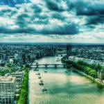 """From the eye III- River Thames"" by annayanev"