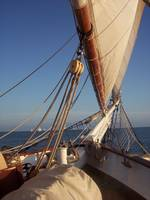 Sailing on the Schooner Liberty in Key West, Fl