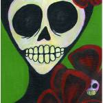 """FlowerInRed"" by NatashaBlue"