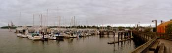 boat yard panorama