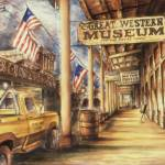 """Virginia City Nevada - Fine Art Painting"" by Art-America"