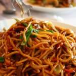 """Pork Lo Mein Noodles"" by Patflinschrod"