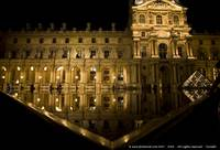 Water Reflections in The Louvre