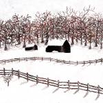 """Winter Country"" by GingerArt"