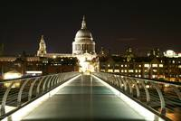 St Pauls from the Millennium Bridge