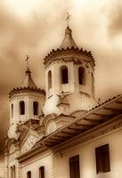 One of the Many Churches in Cuenca, Ecuador