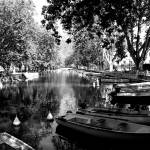 """Boats at Annecy"" by marcyhogan"