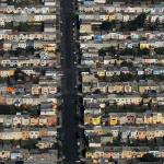 """SF Colorful Costal Neighborhood"" by MultimediaMike"