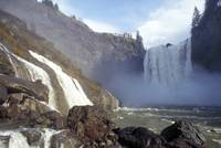 Snoqualmie Falls in winter # 1
