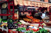 Italian Fruit Stand, Fiesole, Italy